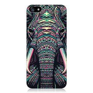 Head Case Designs Coque protectrice pour iPhone 5 et 5S Motif éléphant aztèque