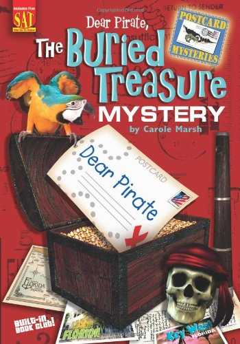 Dear Pirate, the Buried Treasure Mystery (Postcard Mysteries (Paperback))