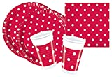 Procos 10105479 - Partyset S Red Dots