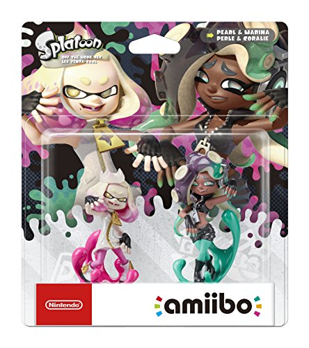 Off the Hook Set amiibo - Pearl and Marina - Splatoon Collection (Nintendo Switch/Nintendo Wii U/Nintendo 3DS)