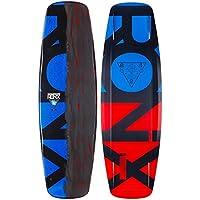 RONIX Space Blanket ATR Edition Wakeboard, Hombre, Azul (Metallic Blue/Brushed Orange & Black), 137 cm