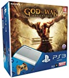 Console PS3 500 Go blanche + Manette PS3 Dual Shock 3 blanche 'God of War : Ascension' + God of War : Ascension - édition spéciale