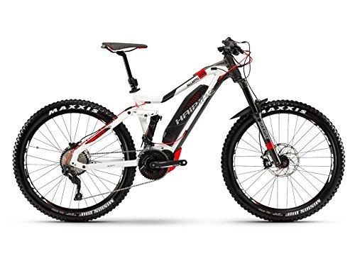 Haibike XDURO AllMtn 6.0 E-Bike 500Wh E-Mountainbike weiß/anthrazit/rot