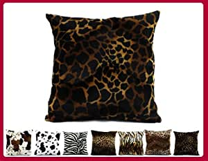 Coussin déhoussables motif animal girafe 40x40 W018