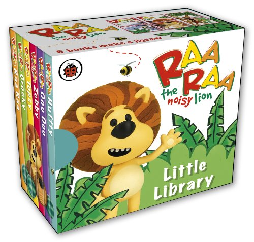 Raa Raa The Noisy Lion: Little Library for sale  Delivered anywhere in UK