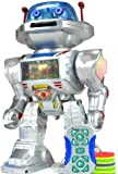 RC Remote Controlled Robot, Toy Robot- Shoots Frisbees, Dances, Talks, Walks, with Sounds and Lights