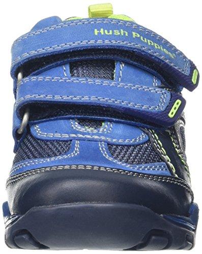 Hush Puppies Oscar, Scarpe Running Bambino Multicolore (Blue)