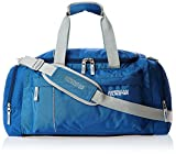 #9: American Tourister Nylon 55 cms Blue Travel Duffle (40X (0) 01 008)