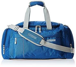 9  American Tourister Nylon 55 cms Blue Travel Duffle (40X (0) da09e80e66