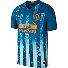 Nike SS Third Jersey Green Abyss Orange Peel 18 19 Atletico Madrid 4bea691eafd58