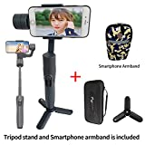 Feiyu Tech Vimble 2 Extendable Handheld 3-Axis Gimbal Stabilizer for Smartphone included tripod stand