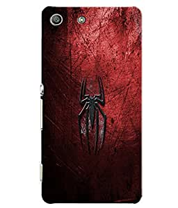 Citydreamz Spiderman Logo Hard Polycarbonate Designer Back Case Cover For Sony Xperia M5 Aqua/ M5 Dual Sim