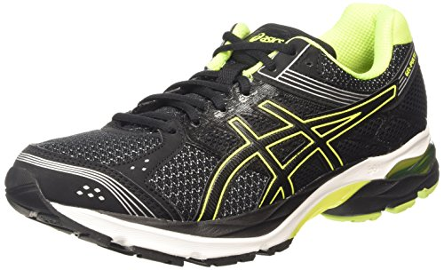 asics-gel-pulse-7-mens-running-shoes-black-black-flash-yellow-silver-9007-8-uk