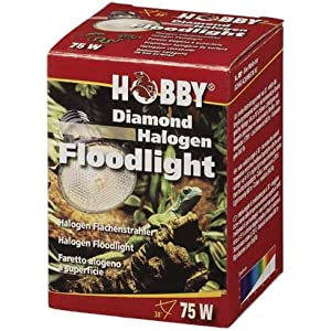 Diamond Halogen Floodlight, 75 W