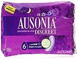 Ausonia Discreet Maxi Día y Noche Compresas para Pérdidas de Orina - 12 Unidades