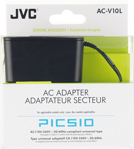 JVC AC Charger Action Camera for GC-XA1, AC-V10LEUM (for GC-XA1)