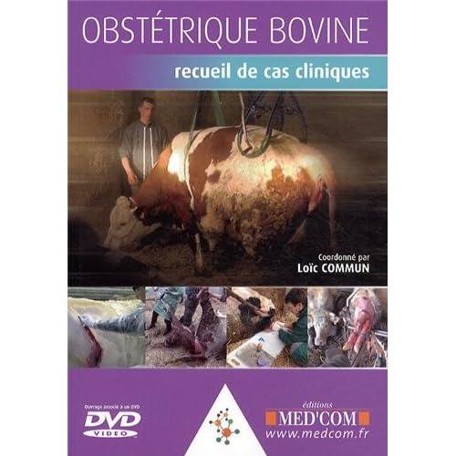 Obstétrique bovine : Recueil de cas cliniques (1DVD)