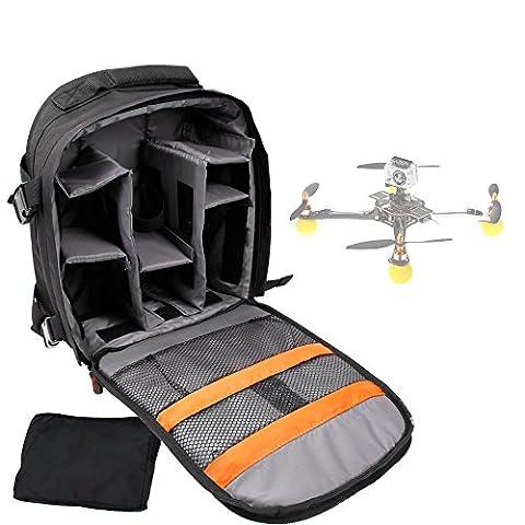 Sac à dos noir de transport pour mini drone Syma