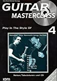 Guitar Masterclass, m. CD-Audio, Bd.4, Play In The Style Of Metallica - Kirk Hammett, James Hetfield, m. CD-Audio