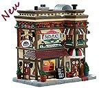 Lemax 75254 - Papas Pasta Place - NEU 2018 - Caddington Village - Beleuchtetes LED Porzellan Haus/Restaurant - Dekoration für Italiener - Aufbau einer kleinen Weihnachtswelt/Weihnachtsdorf
