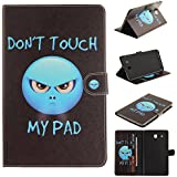 Samsung Galaxy Tab E 9.6 Housse,Samsung Galaxy Tab E 9.6 Coque, Samsung Galaxy Tab E SM-T560 9.6 pouces Wallet Case Cover - Cozy Hut Motif Extraterrestrial Coque Étui pour Samsung Galaxy Tab E SM-T560 9.6 pouces Élégant PU Cuir Pochette Housse Anti rayure avec Fermeture Magnétique Smartphone Swag Housse Etui Couverture avec Fonction Support - Extraterrestrial