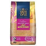 Tate & Lyle Fairtrade légère Muscovado canne à sucre 500g (Paquet de 500g)