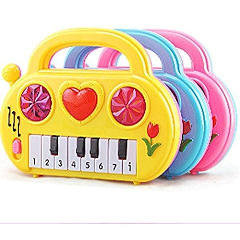 Baby Geburtstagsgeschenk Spielzeug,Huihong Elektronische Orgel Musikinstrument Kind Weisheit Entwickeln Musikalischen Spielzeug