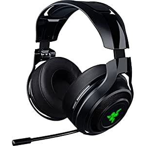Razer ManO'War Wireless 7.1 Surround Sound Gaming Headset Compatible with PC and Works with Playstation 4