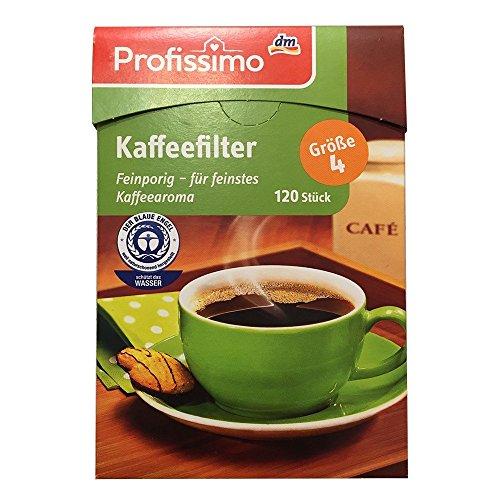 Profissimo Kaffeefilter Gr. 4 (120 Stk Box)