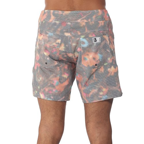 Bench Boardshorts Iron Bikini Babes - Short Homme Multicolore (Jet Black)