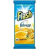 Flash forte Weave Lingettes orange 60 par paquet