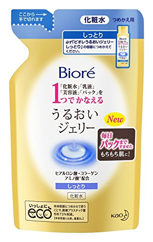 Biore New Skin Lotion Gel 180ml - RefilliGreen Tea Set)
