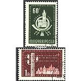 Hongrie 1532A-1533A (complète.Edition.) 1958 ministérielle le oss, prague (Timbres pour les collectionneurs)