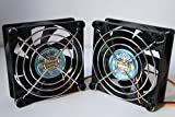 Best King Electric Tower Fans - ( 2-PACK) long life with Grill Dual Ball Review