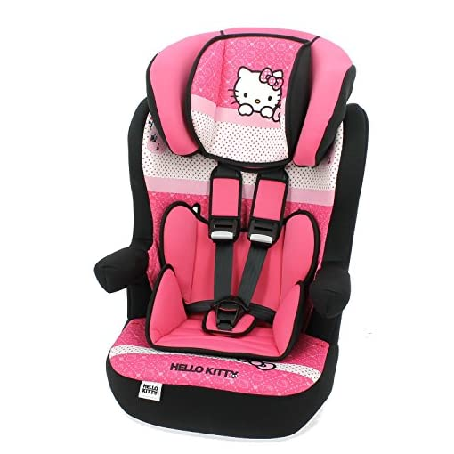 Braccioli Hello Kitty.Seggiolino Auto Inclinabile Hello Kitty Gruppo 1 2 3 Di 9 A