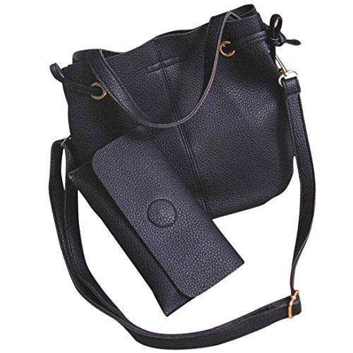 YOUBan Damen Handtasche Mode Frauen Ledertasche Litchi Stria Handtasche Crossbody Umhängetasche Brieftasche Reiserucksack Schultertasche