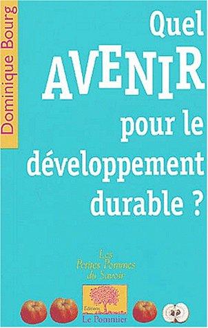 Quel avenir pour le développement durable ?