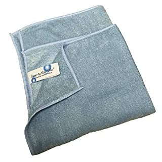 5 x Antibacterial Microfibre Cleaning Cloth with Nano-Ag Microcide Technology by Discounted Cleaning Supplies