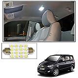 #4: Vheelocityin 16 SMD LED Roof Light White Dome Light for Chevrolet Enjoy
