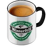 Funtasstic Tasse Winterfell Beer - Kaffeepott Kaffeebecher by StyloTex