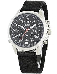 [LAD WEATHER] GPS Reloj military Correa de la OTAN 30 Zona horaria 100 metros impermeable modo vuelo latitud Configuración fácil