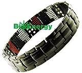 Titanio magnetico energia germanio bracciale Potenza Bracciale Salute Bio 4in1 44