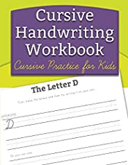 Cursive Handwriting Workbook: Cursive Practice for Kids