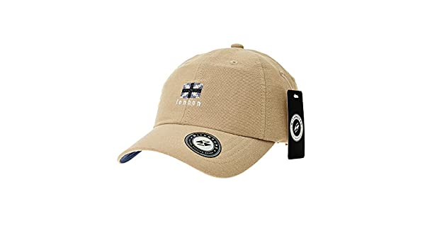 c444263b79b WITHMOONS Baseballmütze Mützen Caps Kappe Baseball Cap UK Union Jack Flag Patch  Simple Plain Ball Cap for Men Women Cotton Hat CR1918 (Beige)  Amazon.de   ...