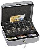 Durable 176057 Geldzählkassette für CHF, Größe S, 1 Stück, anthrazit/grau