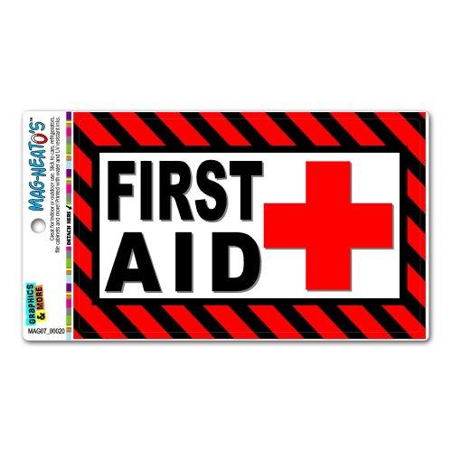 Graphics and More First Aid Kit–Business Store Schild Mag-Neato 's-TM Automotive Auto Motorhaube Kofferraum Kühlschrank Locker Vinyl Magnet