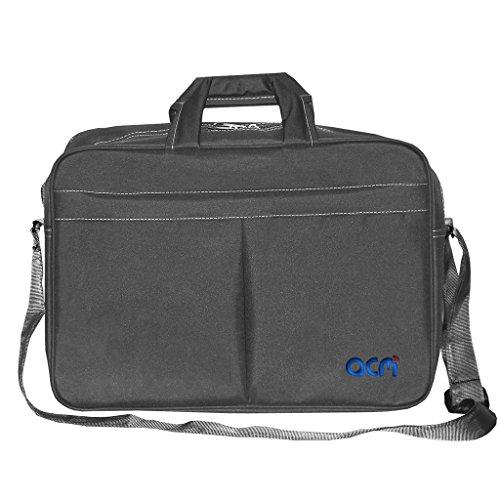 "Acm Executive Office Padded Laptop Bag Compatible with Fujitsu Vfy:A5550mp80jde 15.6"" Laptop Grey"
