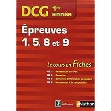 DCG 1E ANNEE EPREUVES 1-5-8-9