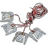 WEONE IP65 YZC-161F2 50 kg Cuerpo Escala Humana sensor de carga de la escala de la célula de pesaje sensor de paquetes de 4