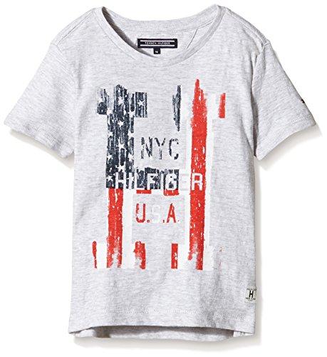 Tommy-Hilfiger-Flag-CN-Tee-SS-Camiseta-para-Nias
